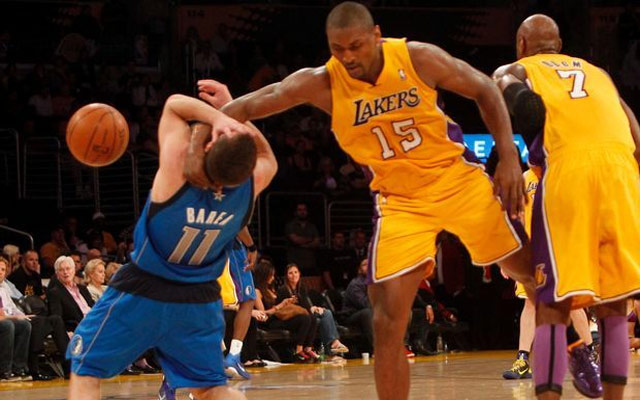How many personal fouls in NBA